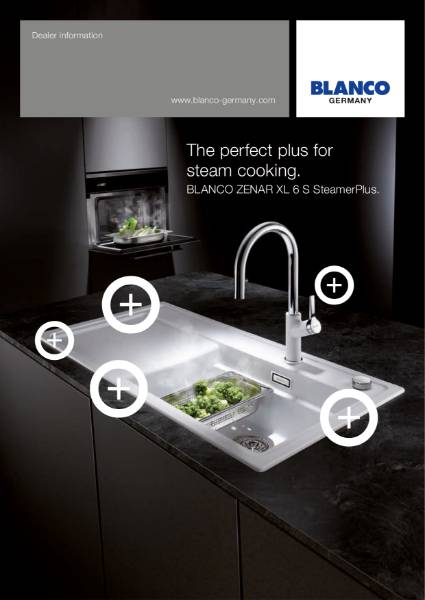 BLANCO Zenar Steamer Sink