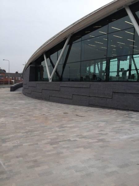 Streetscape® High Strength Bedding Concrete | supplied to Vinci Construction UK | £350million Stoke-on-Trent Bus Station  | SMET Case Studies