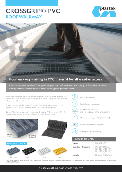 Plastex Crossgrip PVC