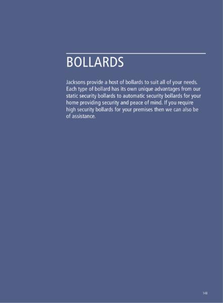 Access Control: Bollards