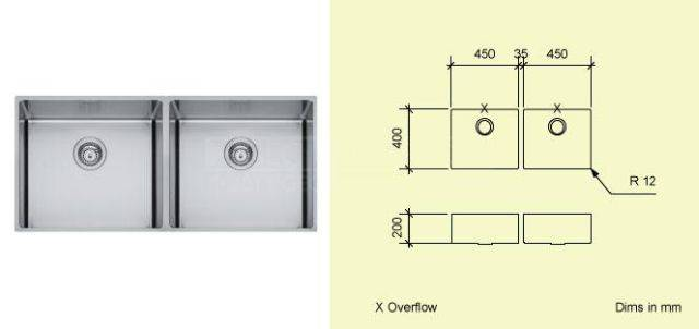 Sink Bowl AD45
