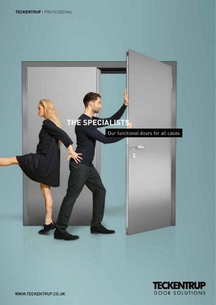 Steel Doorset Acoustic Door Selector Rw 57dB DIN EN 20140