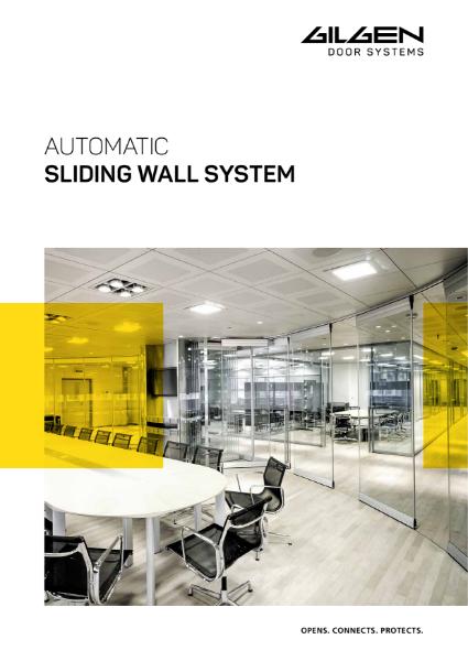 Gilgen Sliding Wall System