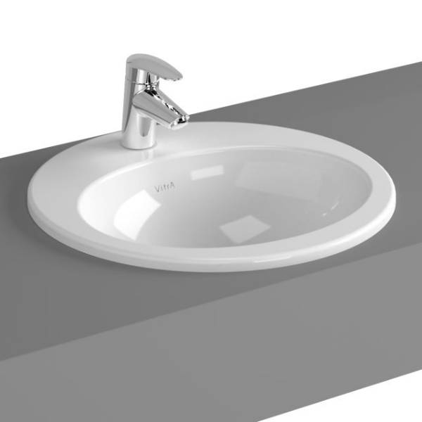 VitrA S20 Counter-top Basin, 48 cm, Oval, 5467