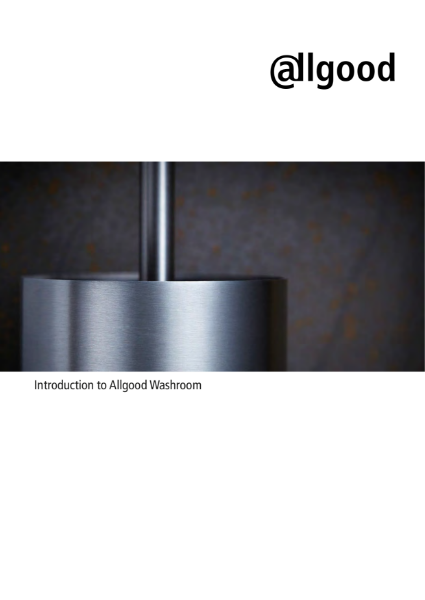 Allgood Ironmongery & Washroom solutions for Commercial & Public Buildings