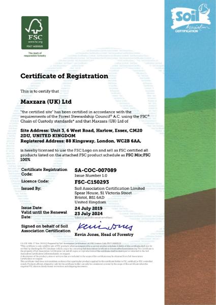 FSC Certificate