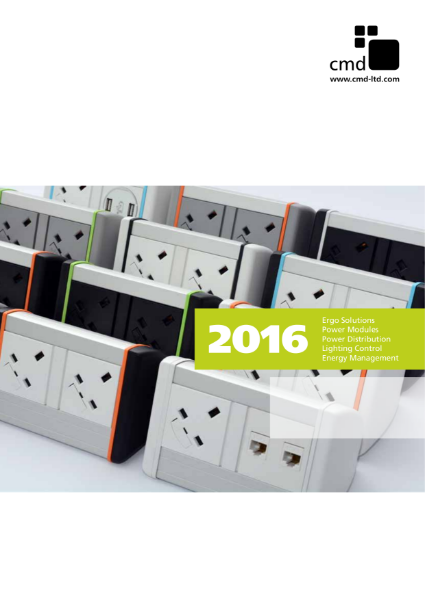 CMD 2016 Product Catalogue