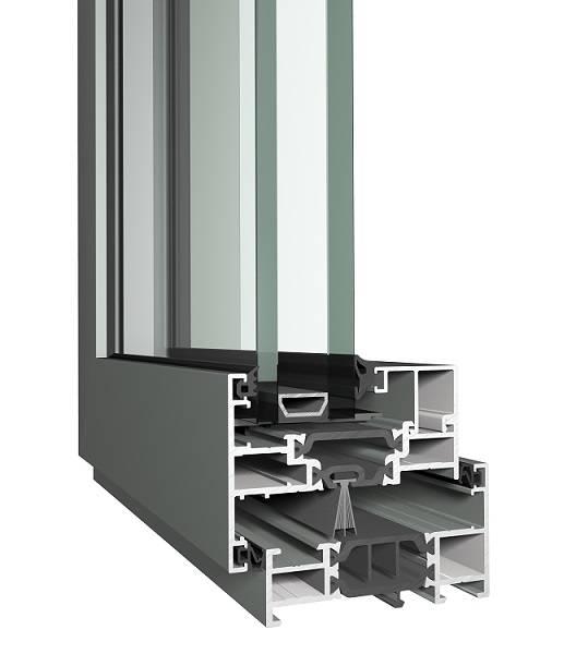 Aluminium Window SL 68 Slim Line System