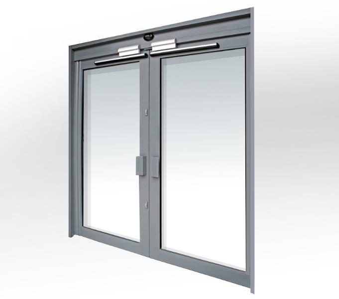 Kestrel Aluminium Commercial Doors