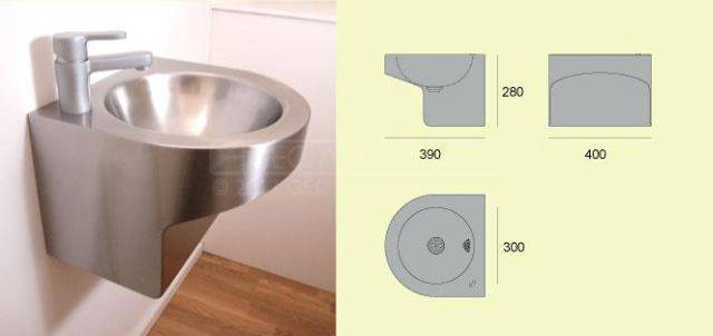 V216 Wall Hung Wash Basin