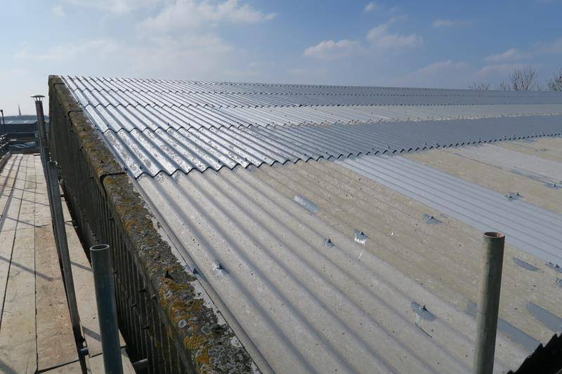 Asbestos Roof Coating With BBA Approved Asbestoseal