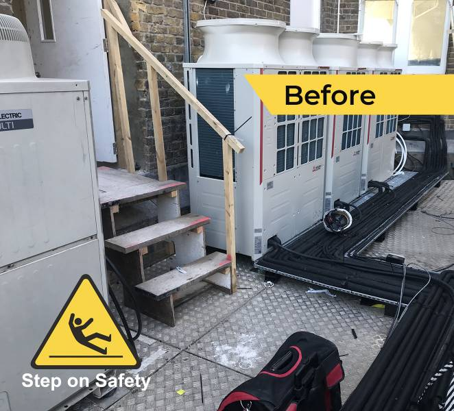 Roof-Top Access Improvements at Ely Place