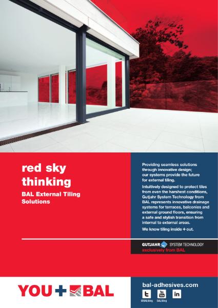 BAL External Tiling Solutions Range Brochure