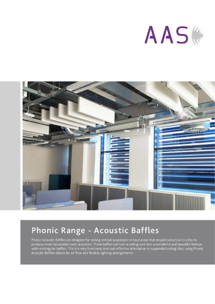 Phonic - Acoustic Baffles