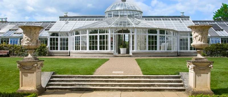 Chiswick house & gardens conservatory