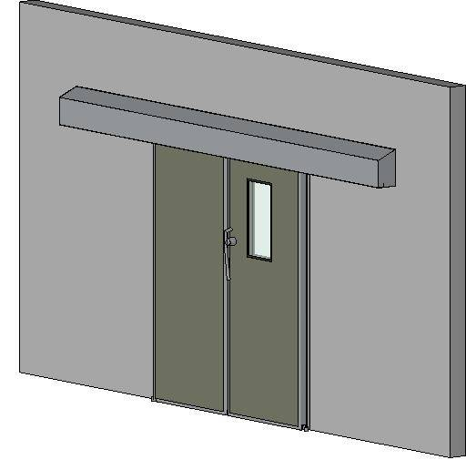 Hermetically Sealing Bi Parting Sliding Door