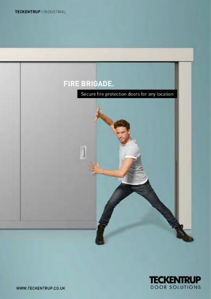 Teckentrup Sliding & Lifting Insulated Fire Doors