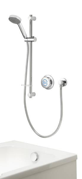 Quartz Classic Smart divert concealed adjustable with bath - GP