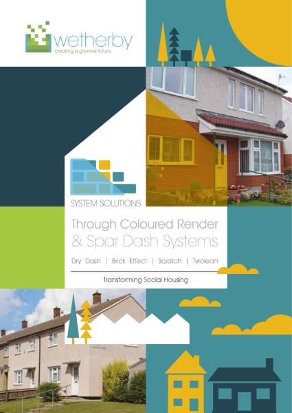 Through Coloured Renders / Spar Dash Systems