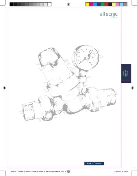 Pressure Reducing Valves - Altecnic Commercial Guide