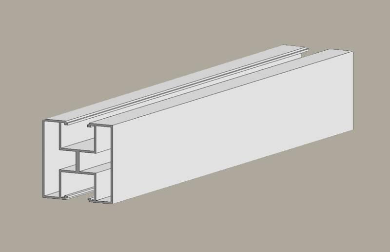 Solar module support rails