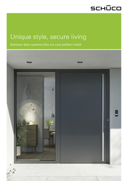 AD UP Entrance Door Systems