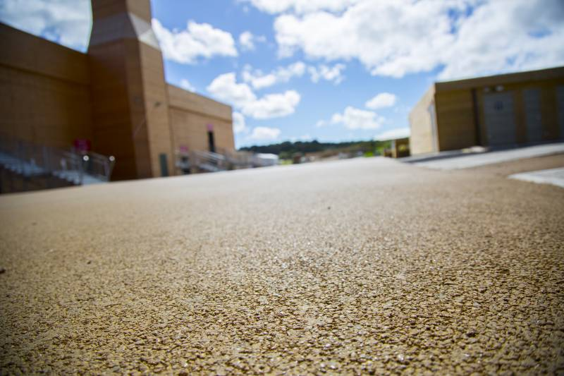 Tarmac Ulticolour - coloured asphalt for tourist venue
