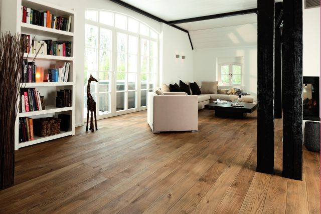 BOEN 14 mm Plank - 14 x 138 x 2200 mm - Micro-Bevel - Live Natural Oil
