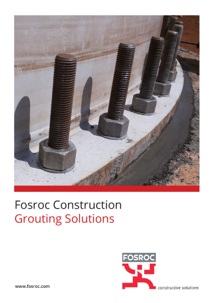 Fosroc Grouting Solutions