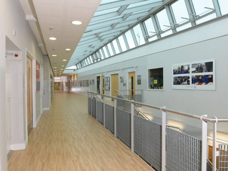 Polyflor's acoustic flooring helps create peace and quiet at Northampton Academy