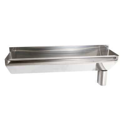 Stainless Steel Scrub-Up Trough SU H2