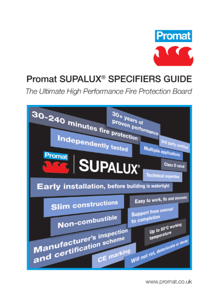SUPALUX Specifiers Guide