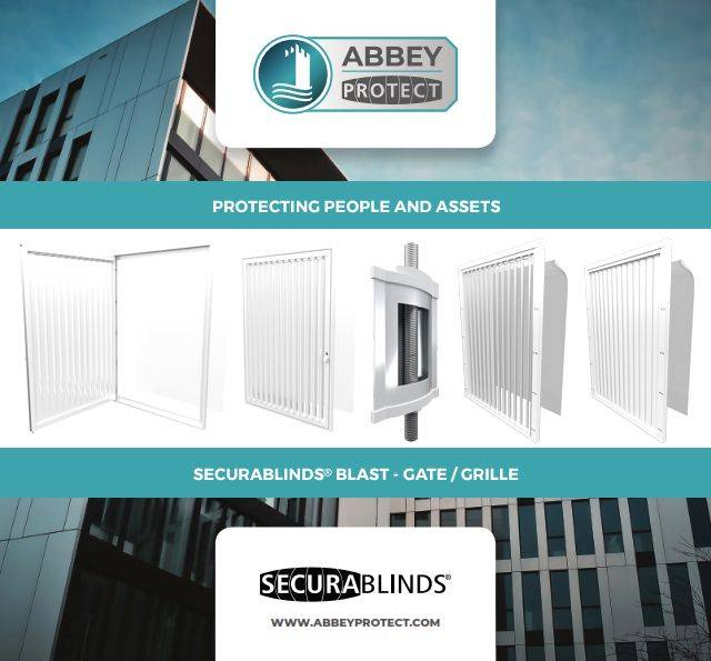 SECURABLINDS® Blast, Left/ Right Hand Hung Gate, Double Gate, Fixed Grille or Double Lock Grille Security Blast Blind - A2GTLHH / A2GTRHH / A2DG / A2GR / A2DLG