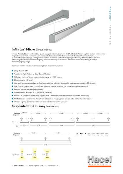 Infinitas® Micro System