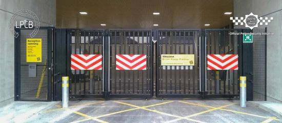 LPS1175 Security Rated Automatic Platinum Bi-folding Gates
