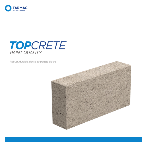 Topcrete Paint Quality - Aggregate Blocks Product Guide