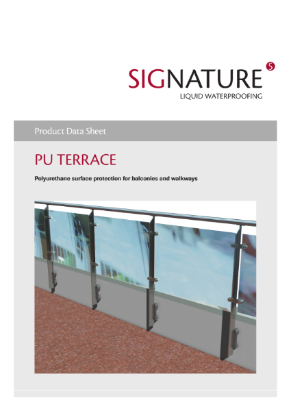 SIGnature PU Liquid Waterproofing Terrace Datasheet
