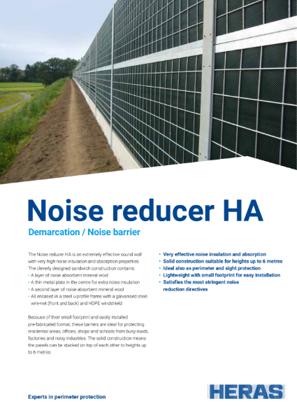 Heavy Noise Barrier
