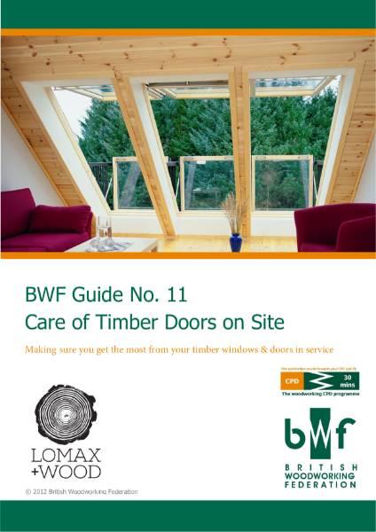 BWF Care of Timber Doors
