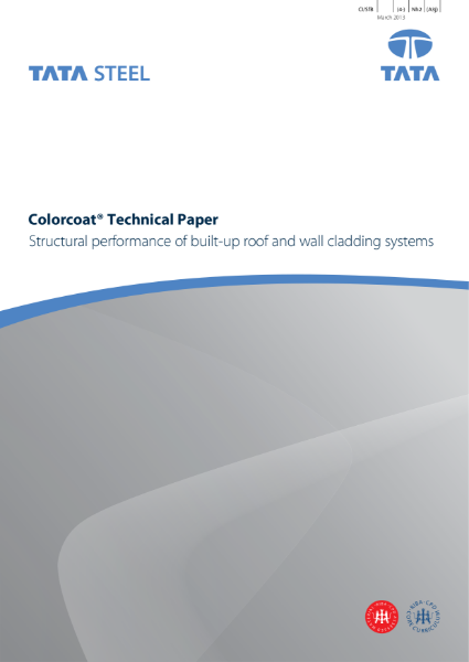 Structural performance of built-up roof and wall cladding systems