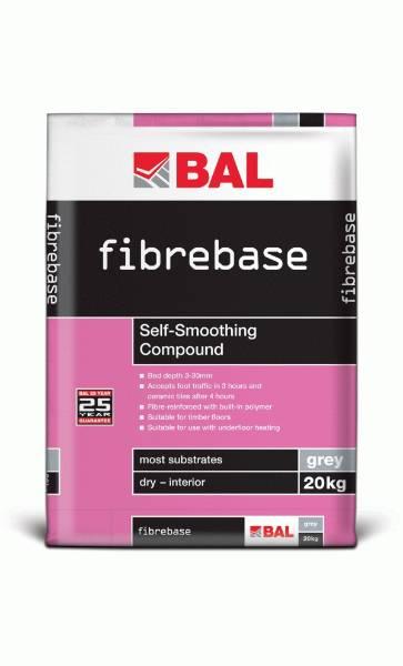 Fibrebase - Self-smoothing compound