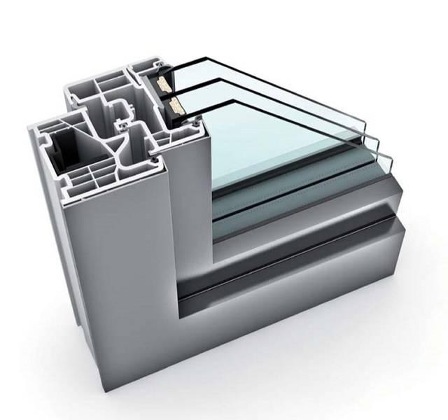 KF 310 UPVC/ Aluminium Window