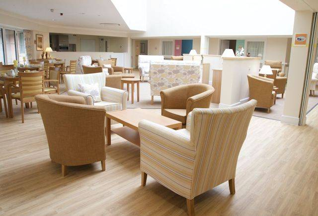 Polyflor flooring creates uplifting dementia care environment at Cwmgelli Lodge