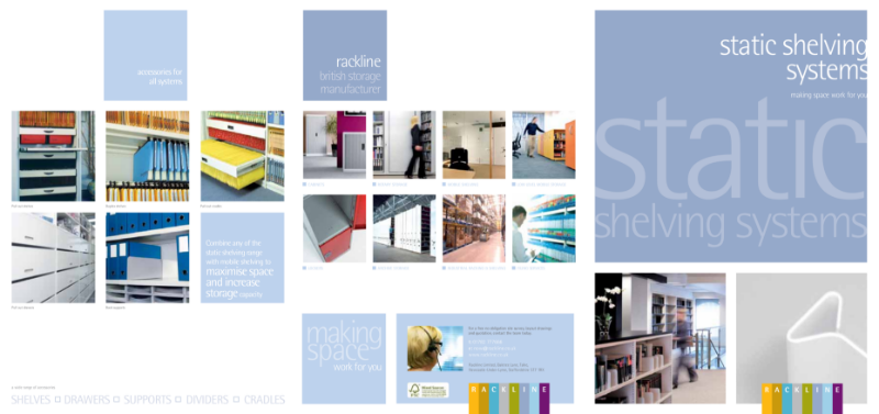 Static Shelving System Brochures