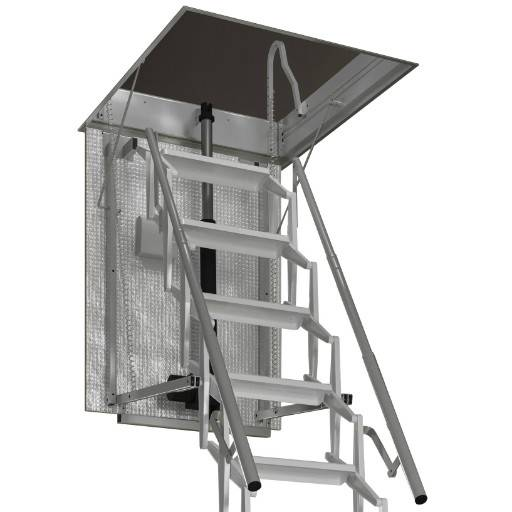 Escalmatic electric loft ladder NBS specification now available