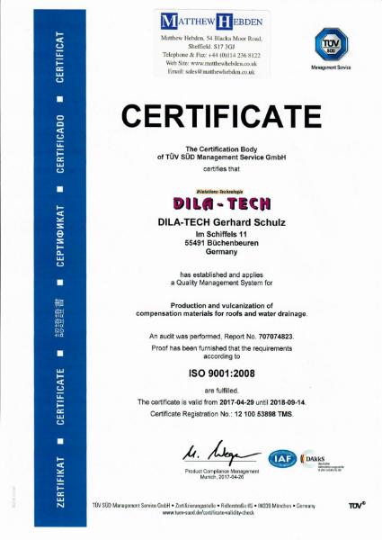 ISO 9001:2008 Certificate (T-Pren)