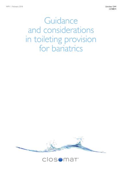 Toileting Provision for Bariatrics