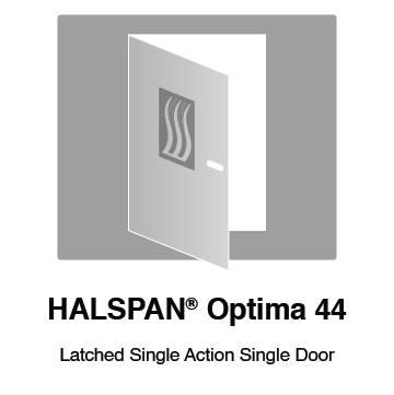 HALSPAN® Optima 44 mm Internal Fire Rated Door Blank - Latched Single Acting Single Doors