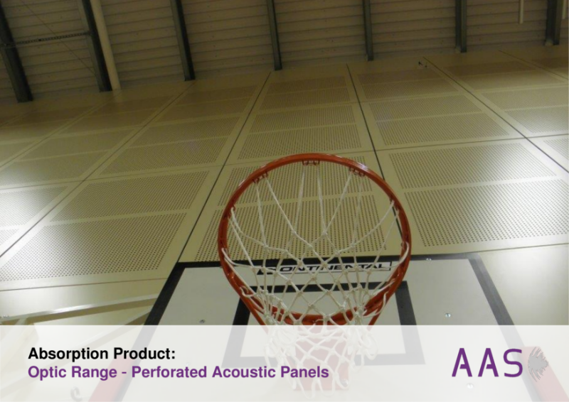 Optic - Perforated Acoustic Panels