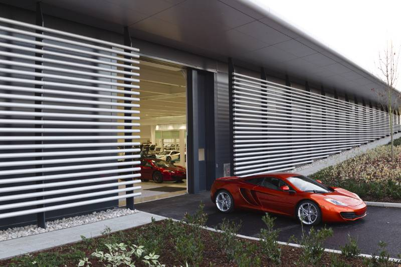 McLaren Production Facility, Woking